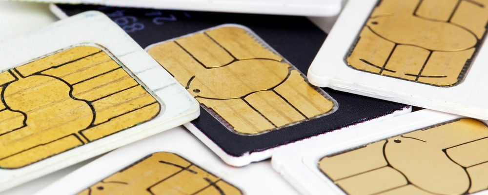 ニュージーランドの携帯電話、SIMカードの破棄