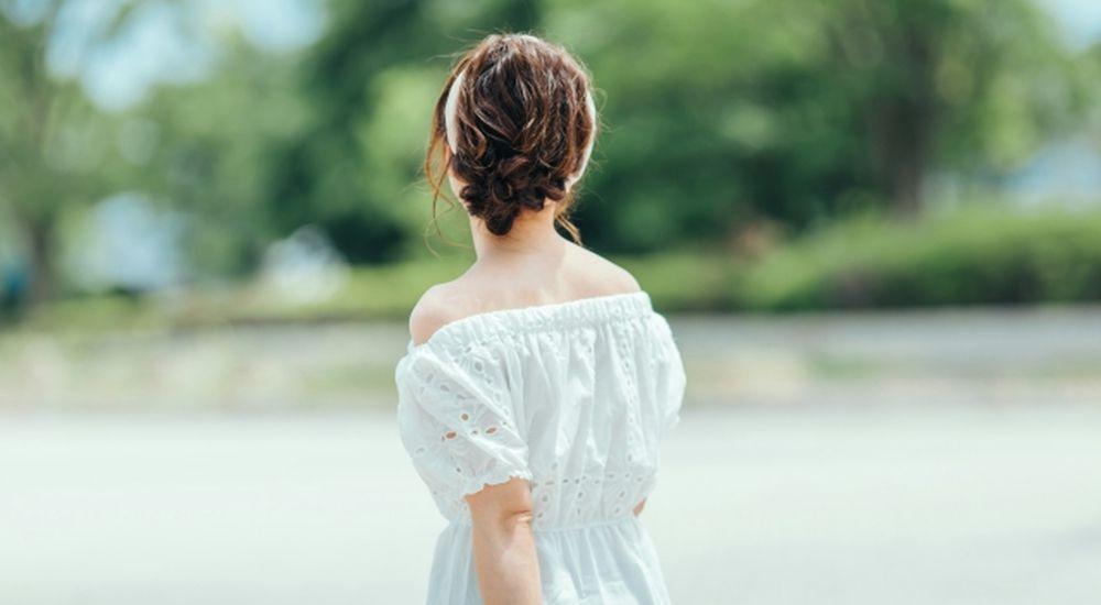ニュージーランドではガーリーな服は目立ちます
