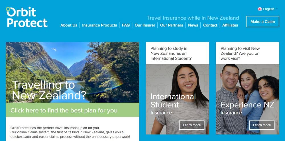 ニュージーランドで就労中の保険