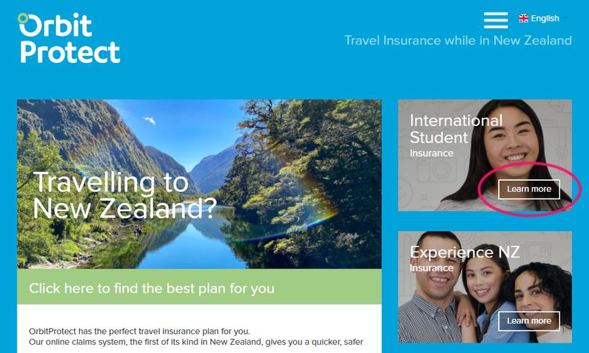 Orbit社の保険加入手続き、オンライン契約の流れ