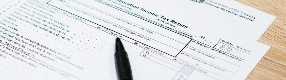 税務関係の通知書は日本にも届きます