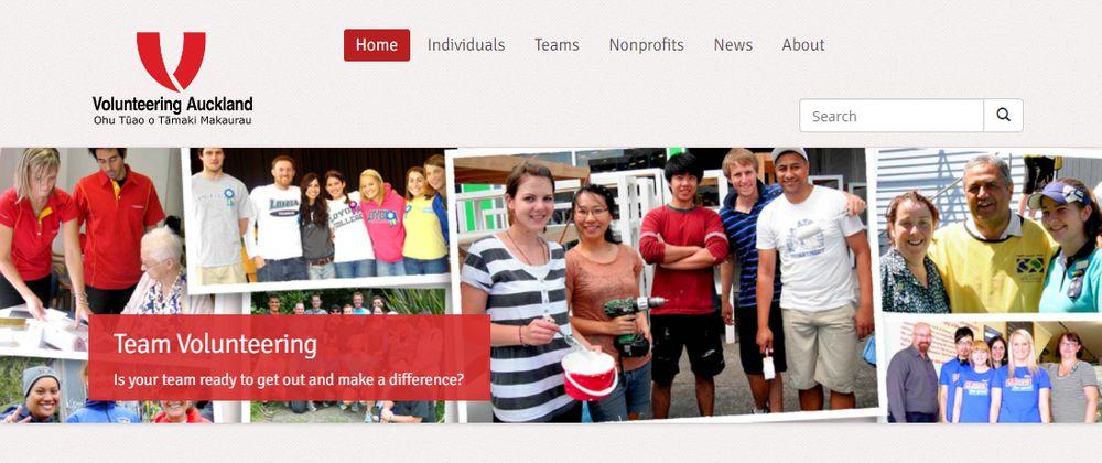 オークランド地区のボランティアセンター