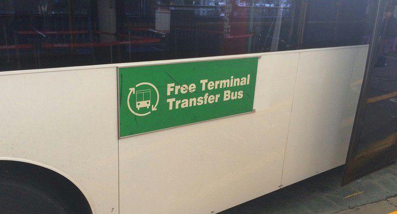 オークランド国際空港 ターミナルバス2
