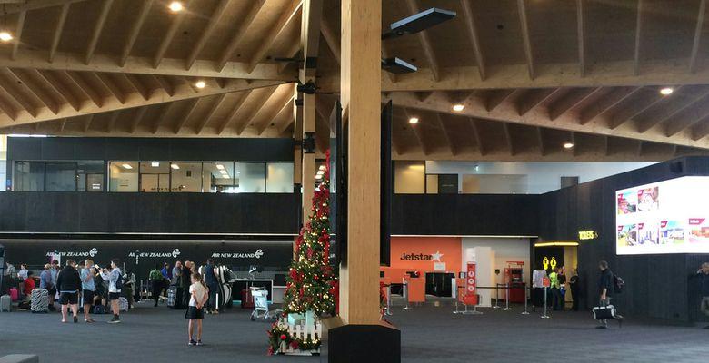 ニュージーランド国内線到着後の手続き - ネルソン空港の場合