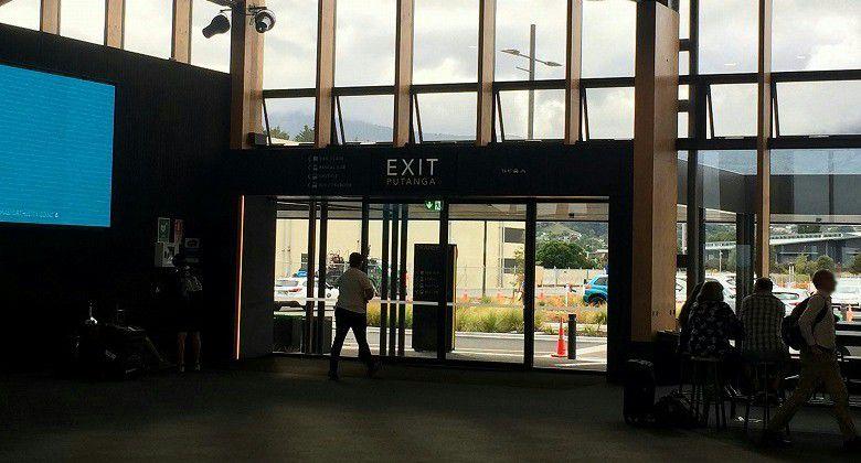 ネルソン空港にて1